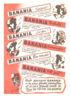 """PUB """" BANANIA """" 1950'S ( 8 ) - Affiches Publicitaires"""