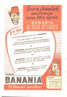 """PUB """" BANANIA """" 1950'S ( 9 ) - Manifesti Pubblicitari"""
