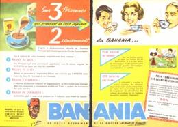 """PUB """" BANANIA """" 1950'S ( 10 ) - Manifesti Pubblicitari"""