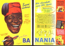 """PUB """" BANANIA """" 1950'S ( 11 ) - Manifesti Pubblicitari"""