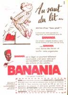 """PUB """" BANANIA """" 1950'S ( 12 ) - Manifesti Pubblicitari"""