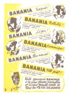 """PUB """" BANANIA """" 1950'S ( 14 ) - Manifesti Pubblicitari"""
