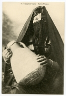 EGYPTIAN TYPES - NATIVE WOMAN - Afrique
