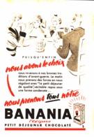 """PUB """" BANANIA """" 1950'S ( 15 ) - Manifesti Pubblicitari"""