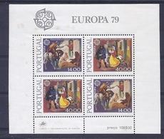 190031615   PORTUGAL  YVERT   HB  Nº  27  **/MNH - Hojas Bloque