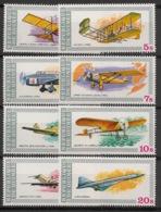 Guinée - 1979 - N°Yv. 638 à 645 - Histoire De L'aviation - Neuf Luxe ** / MNH / Postfrisch - Guinea (1958-...)