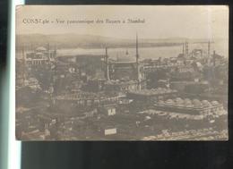 CPA Constantinople - Vue Panoramique Des Bazars à Stambul - Circulée 1920 - Turchia