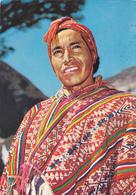 CPM PEROU En 1973 - PISAC Indio Del Lugar Con Poncho - Peru