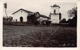 El Salvador - ILOPANGO - Iglesia Colonial - REAL PHOTO - Ed. Foto Salazar. - El Salvador