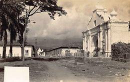 El Salvador - IZALCO - Iglesia De La Asuncion - REAL PHOTO. - El Salvador