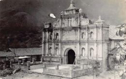 El Salvador - PANCHIMALCO - Iglesia Santa Cruz De Roma - REAL PHOTO - Ed. Salazar Foto. - El Salvador