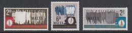Malta 1968 Human Rights 3v ** Mnh (42797C) - Malta