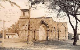 El Salvador - SONZACATE - Iglesia Colonial - REAL PHOTO - Ed. 216. - El Salvador
