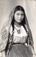 El Salvador - Type Of Salvadoran Young Woman - REAL PHOTO. - El Salvador