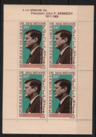 Mauritanie - 1964 - Bloc Feuillet BF N°Yv. 3 - Kennedy / JFK - Neuf Luxe ** / MNH / Postfrisch - Mauritania (1960-...)