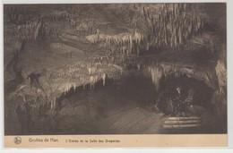 Grottes De Han L'Entrée De La Salle Des Draperies - Rochefort