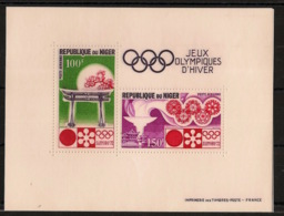 Niger - 1972 - Bloc Feuillet BF N°Yv. 8 - Olympics / Sapporo 72 - Neuf Luxe ** / MNH / Postfrisch - Niger (1960-...)