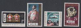 Malta 1968 Todestag Von La Valette 4v ** Mnh (42797E) - Malta
