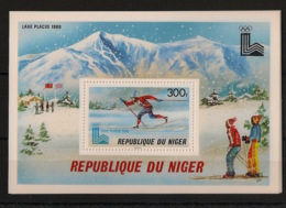 Niger - 1979 - Bloc Feuillet BF N°Yv. 27 - Olympics / Lake Placid 80 - Neuf Luxe ** / MNH / Postfrisch - Niger (1960-...)