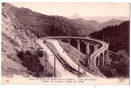 4636 - Ligne Du Tram De Menton à Sospel ( 06 ) - Viaduc Du Caramel , Vallée Du Careï - N.D. Phot. - N°870 - - Francia