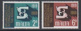 Malta 1969 IAO 2v ** Mnh (42797G) - Malta
