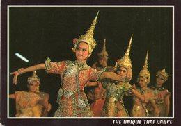Thai Dance     Timbre Au Dos - Thailand