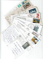 FRANCE / 800 Timbres Grands Formats Sur Cartes Postales - Espagne