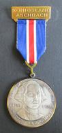 Medaille Königsland Aschbach George Washington 1 Präsident USA 1732-1799 - Unclassified
