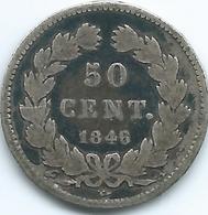 France - Louis Philippe - 1846 - 50 Centimes - KM768 - Frankreich