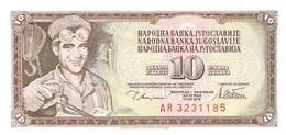 10 Dinar Jugoslawien 1978 UNC - Yugoslavia