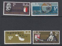 Malta 1970 Anniversairies 4v ** Mnh (42797F) - Malta