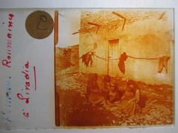 """GRECE -   LIVADIA   - """" Femmes Roumaones à Livadia """" - Rare Plaque De Verre Stéréoscopique  - 1917 - - Glass Slides"""