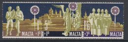 Malta 1970 Christmas / Weihnachten 3v ** Mnh (42797G) - Malta