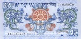 1 Ngultrum Bhutan 2013 UNC - Bhután