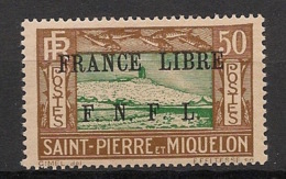 SPM - 1941 - N°Yv. 239 - 50c - France Libre - Neuf Luxe ** / MNH / Postfrisch - St.Pierre & Miquelon