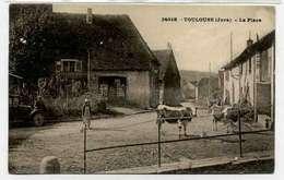 TOULOUSE  Place, Les 2 Vaches, Voiture, - France