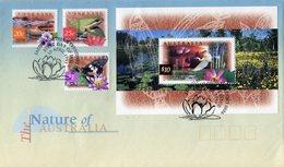 AUSTRALIA 1997 FDC With BIRD-SHEET,FROG,CROCODILE & BUTTERFLY.BARGAIN.!! - Omslagen Van Eerste Dagen (FDC)