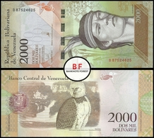 Venezuela   2.000 Bolivares   2016   P.96b   UNC - Venezuela