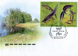 RUSSIA 2012 FDC With SALAMANDERS.BARGAIN.!! - Andere