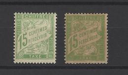 FRANCE.  YT Timbres Taxe  N° 30-30a  Neuf *  1930 - Taxes