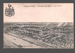 Seraing - Château Cockerill - Ensemble Des Usines à Vol D'oiseau - Seraing
