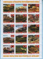 Abkhazia / Stamps / Private Issue. Military Equipment . Germany. Self-propelled Artillery. World War II. 2019 - Fantasy Labels