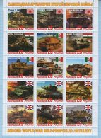 Abkhazia / Stamps / Private Issue. Military Equipment . Self-propelled Artillery. World War II. 2019 - Fantasy Labels