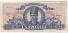 Romania 1000 Lei 1948 , Circulated - Romania