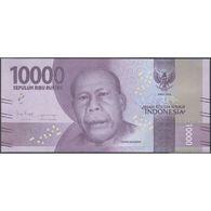 TWN - INDONESIA 157c - 10000 10.000 Rupiah 2016/2018 Various Prefixes UNC - Indonesia