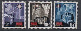 Malta 1970 Christmas / Weihnachten 3v ** Mnh (42797I) - Malta