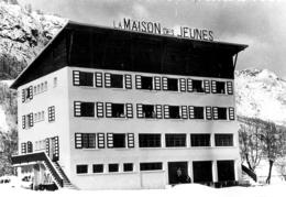 VALLOIRE LA MAISON DES JEUNES  PHOTO ORIGINALE FORMAT 11  X 8  CM - Orte