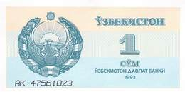 1 Som Usbekistan 1992 - Uzbekistan