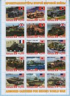 Abkhazia / Stamps / Private Issue. Armored Troop-carrier . World War II. Transport 2019. - Fantasy Labels
