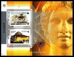 2006 - GRECIA / GREECE - CINQUANTESIMO DEL PRIMO FRANCOBOLLO CEPT - 50TH OF THE FIRST EUROPA CEPT STAMP. MNH - Nuovi